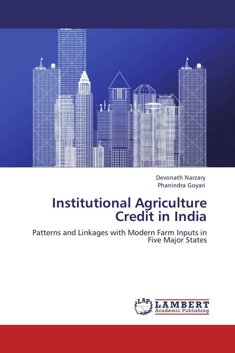 Institutional Agriculture Credit in India