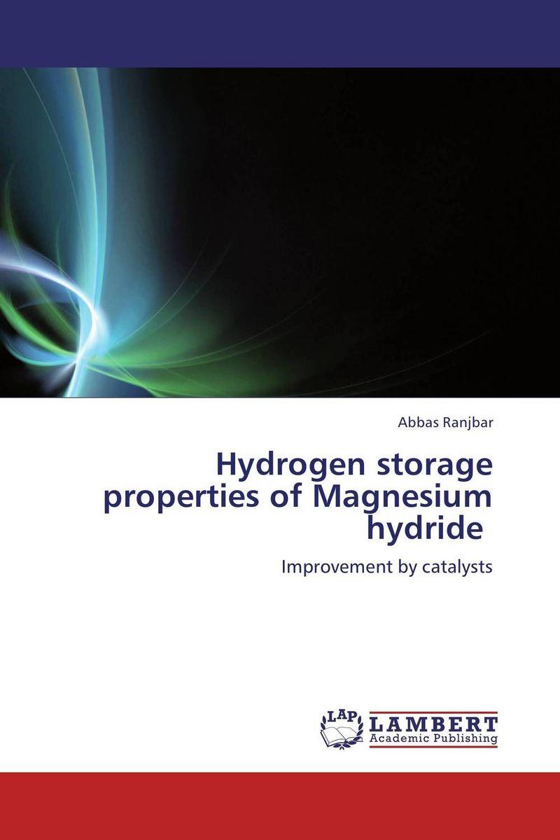 Hydrogen storage properties of Magnesium hydride