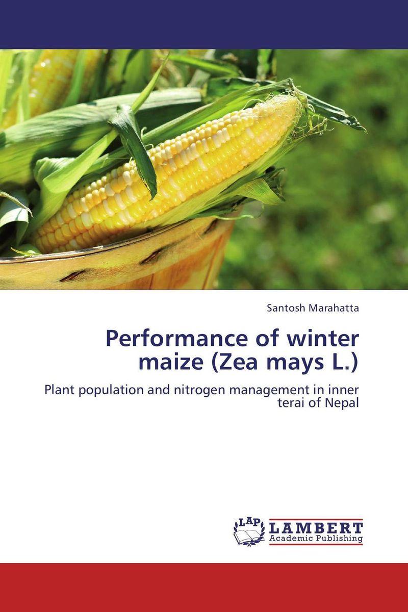 где купить  Santosh Marahatta Performance of winter maize (Zea mays L.)  по лучшей цене