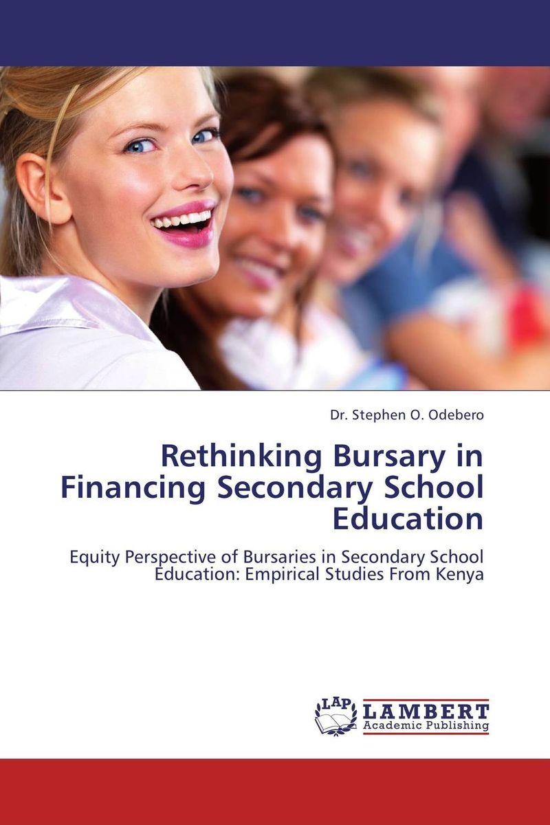 Rethinking Bursary in Financing Secondary School Education