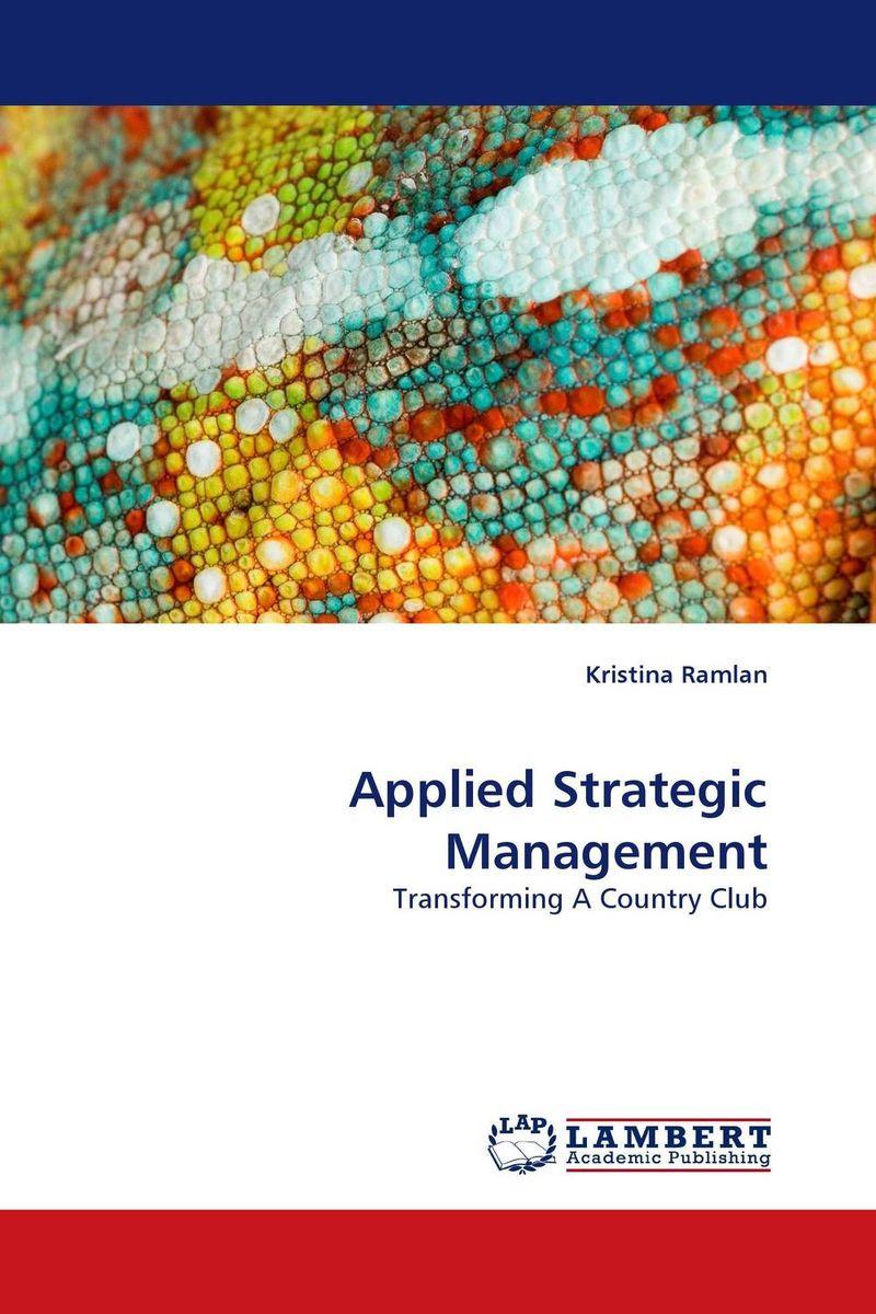 Applied Strategic Management