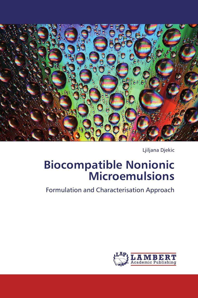 Biocompatible Nonionic Microemulsions
