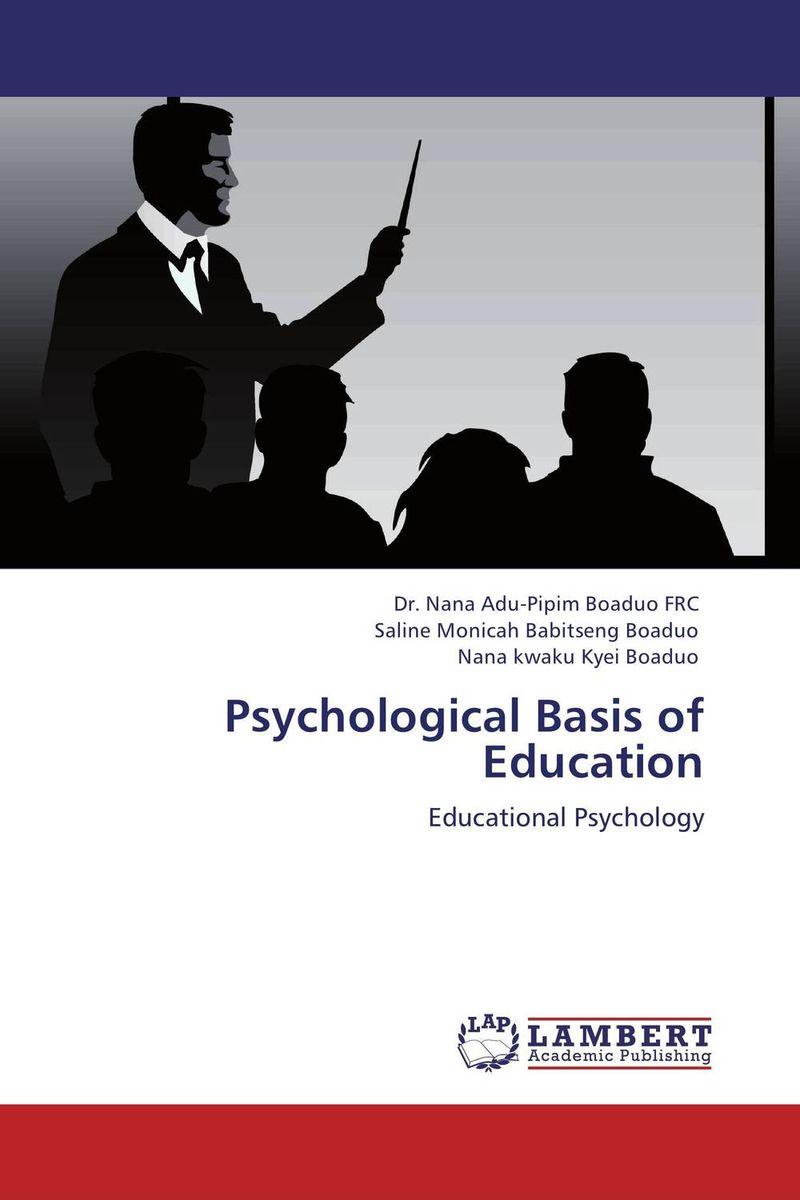 Psychological Basis of Education