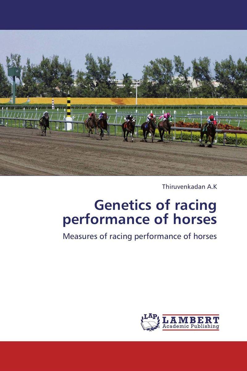 Genetics of racing performance of horses