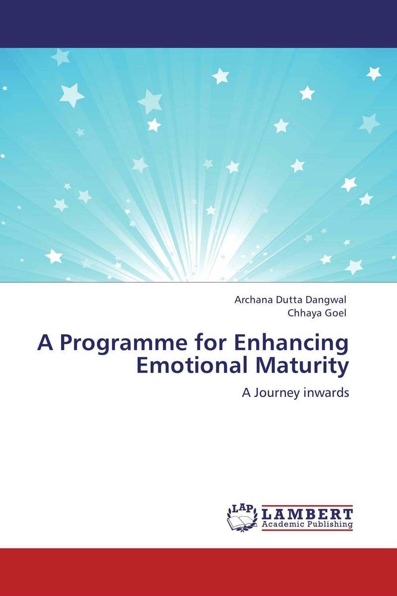 A Programme for Enhancing Emotional Maturity