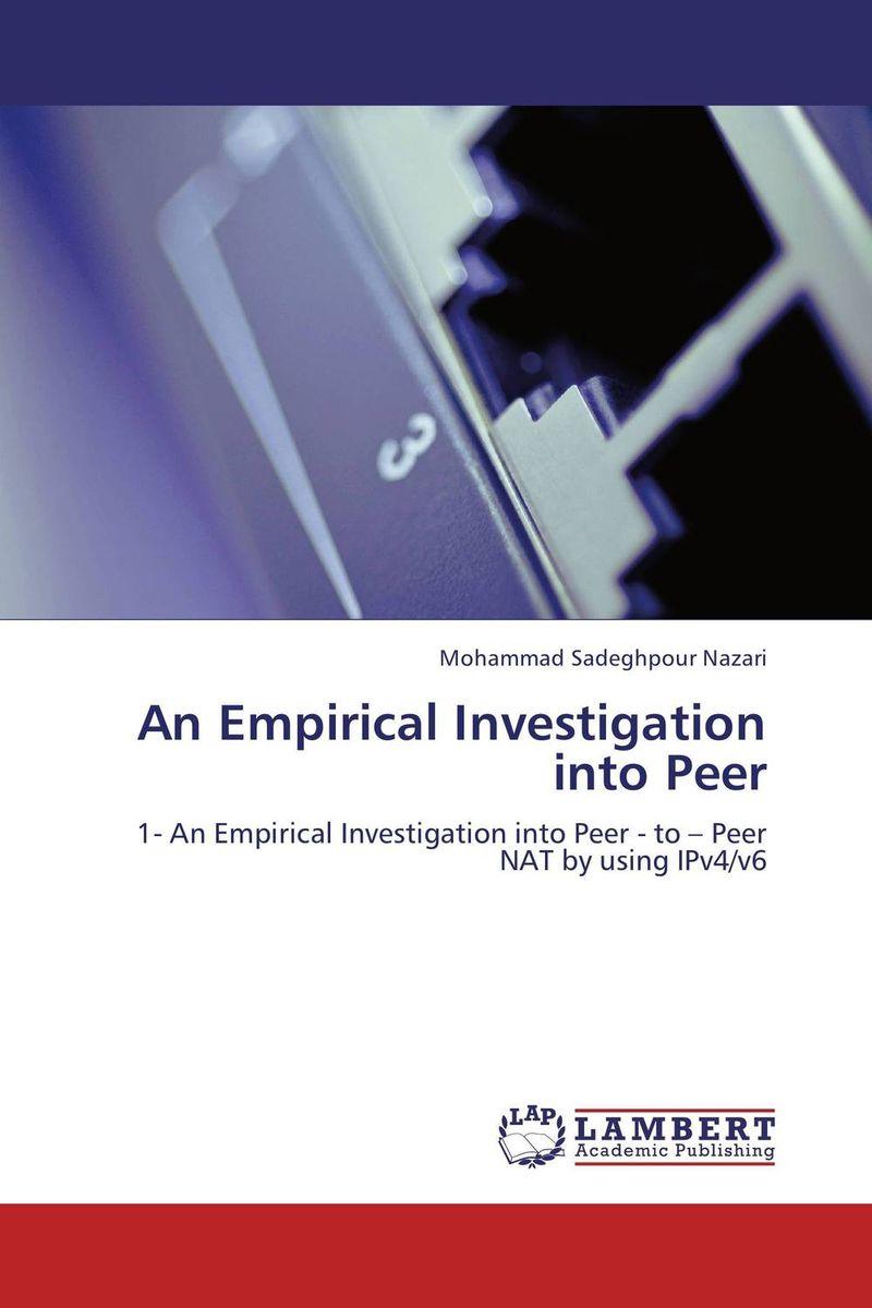 An Empirical Investigation into Peer