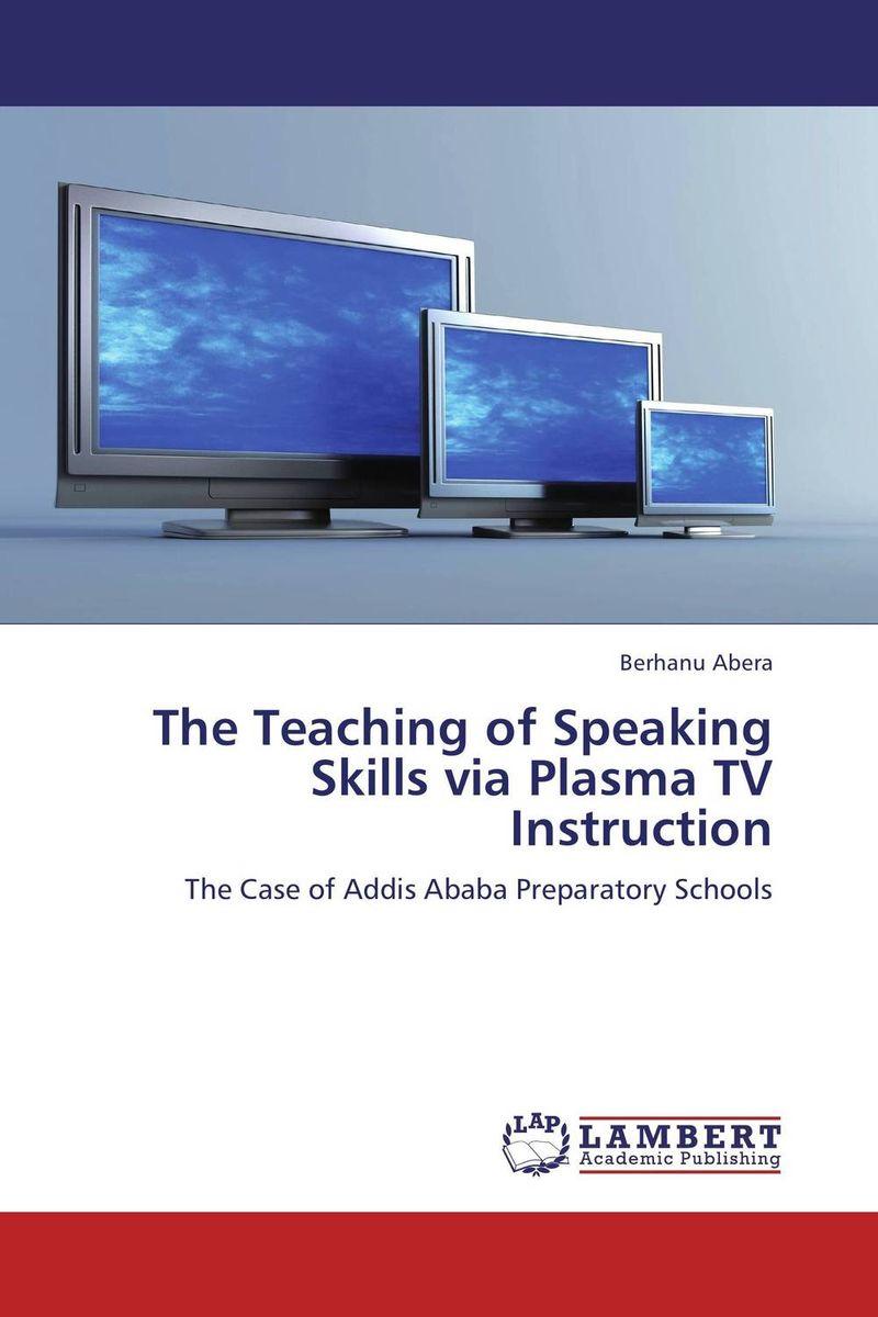 The Teaching of Speaking Skills via Plasma TV Instruction
