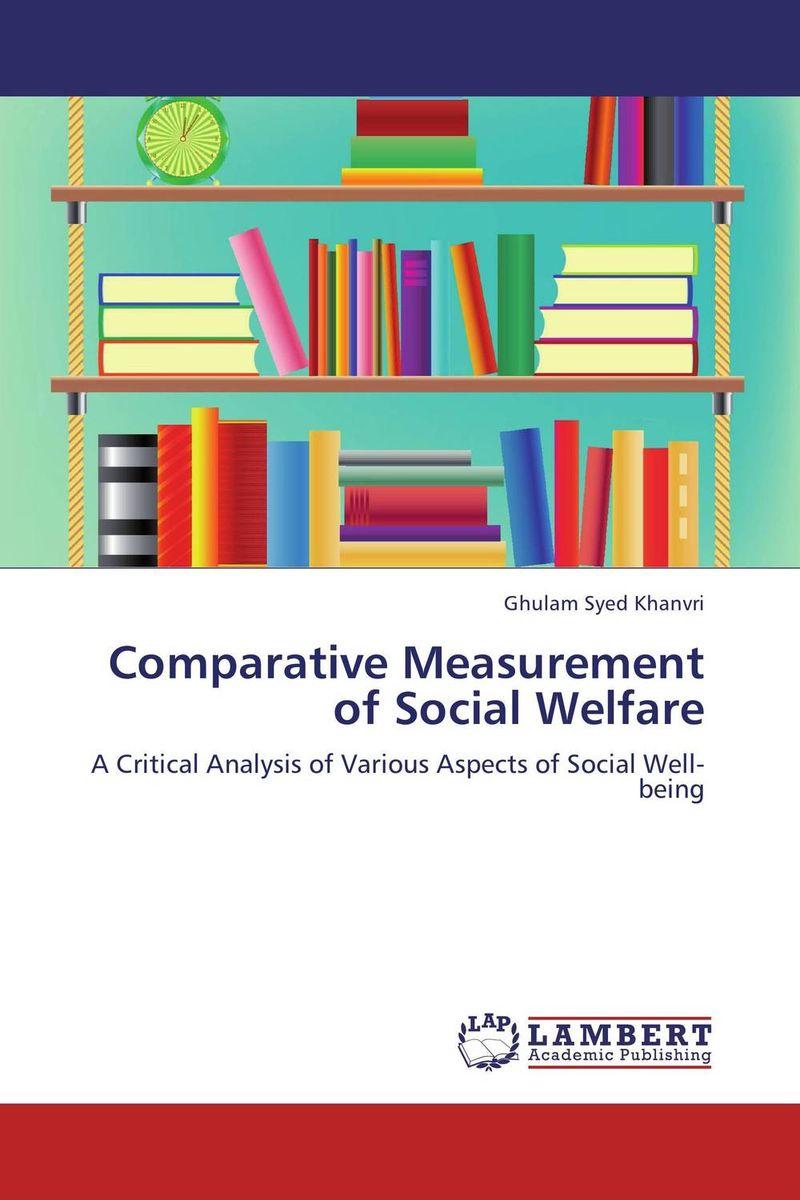 Comparative Measurement of Social Welfare