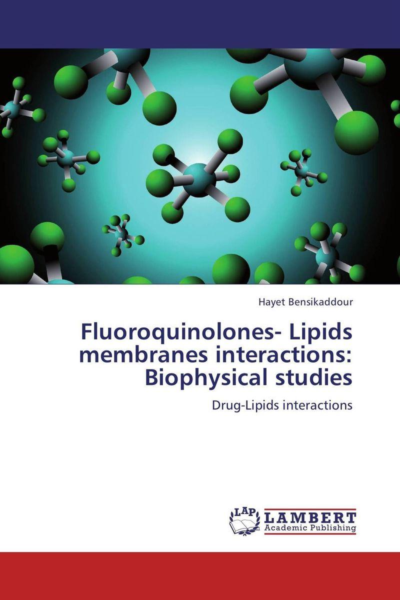 Fluoroquinolones- Lipids membranes interactions: Biophysical studies