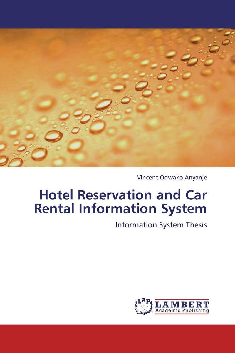 Hotel Reservation and Car Rental Information System