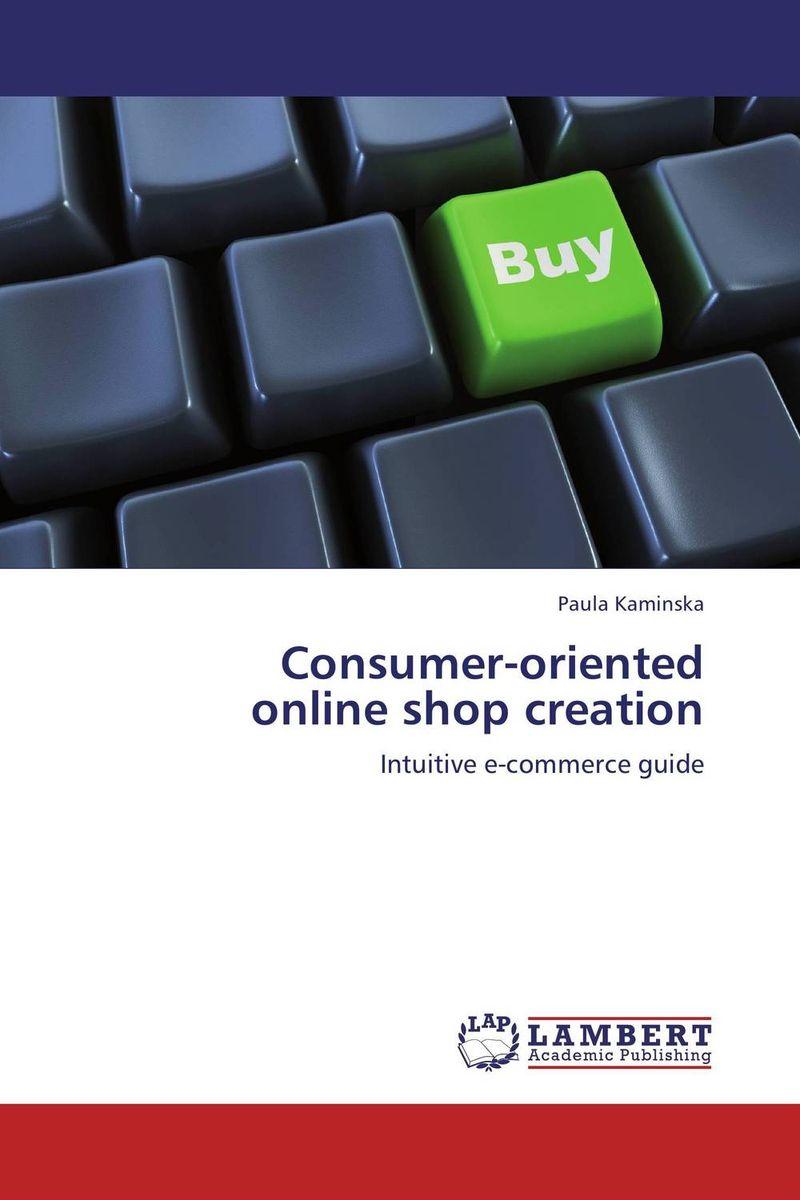 Consumer-oriented online shop creation