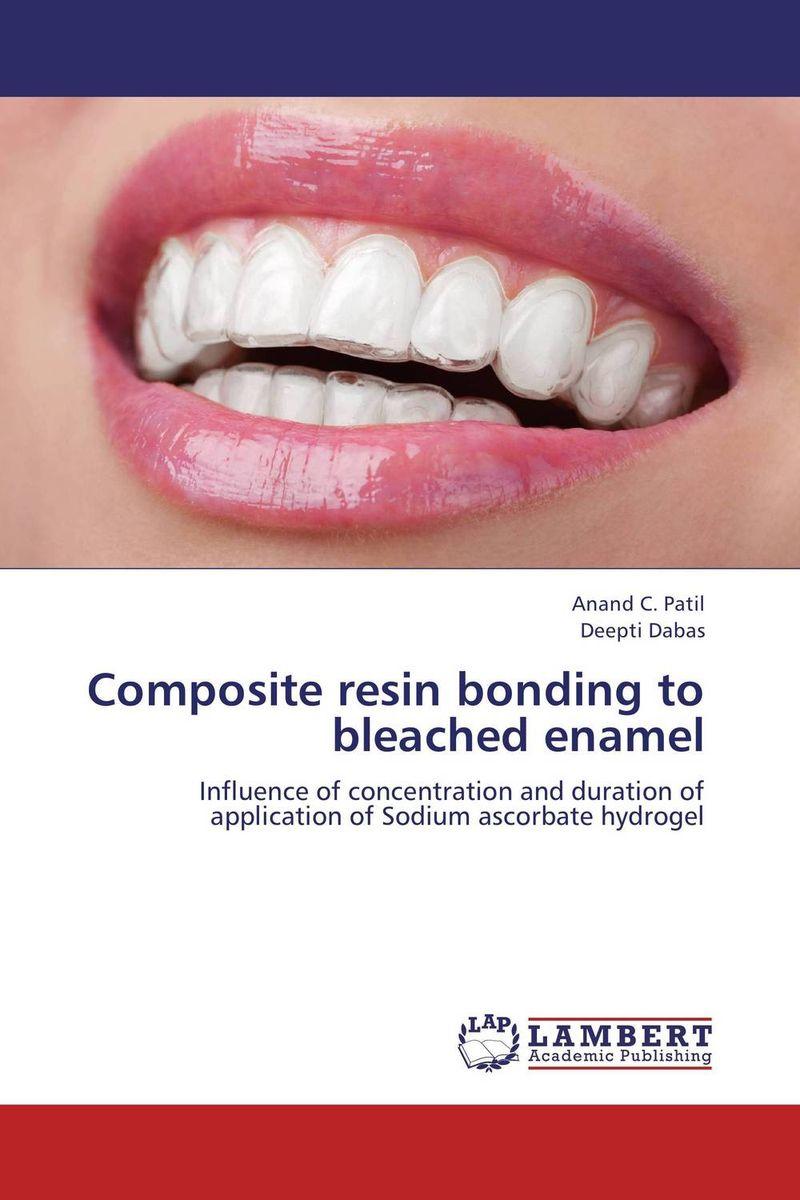 Composite resin bonding to bleached enamel
