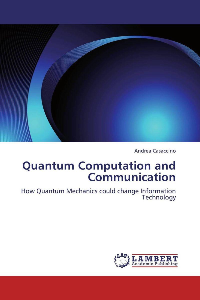 Quantum Computation and Communication