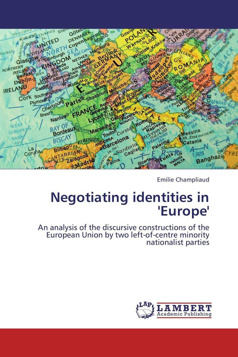 Negotiating identities in 'Europe'
