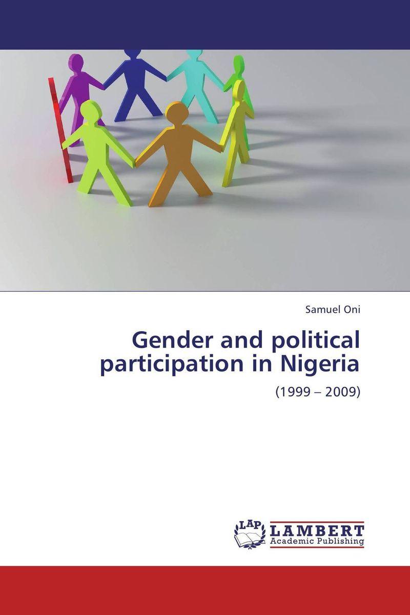 Samuel Oni Gender and political participation in Nigeria oni namerenno priblizhayut carstvo antixrista