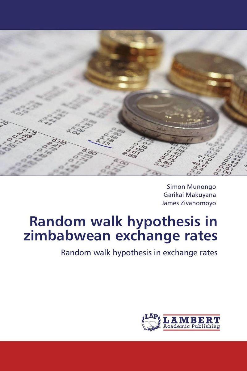 Random walk hypothesis in zimbabwean exchange rates