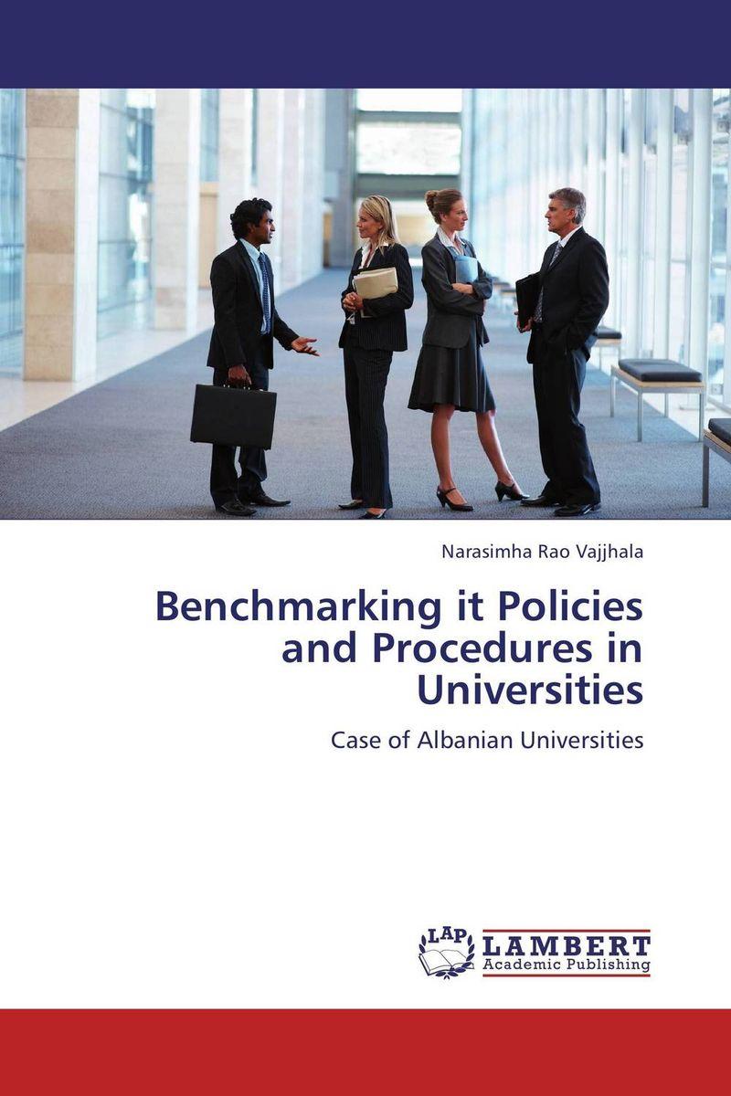 Benchmarking it Policies and Procedures in Universities