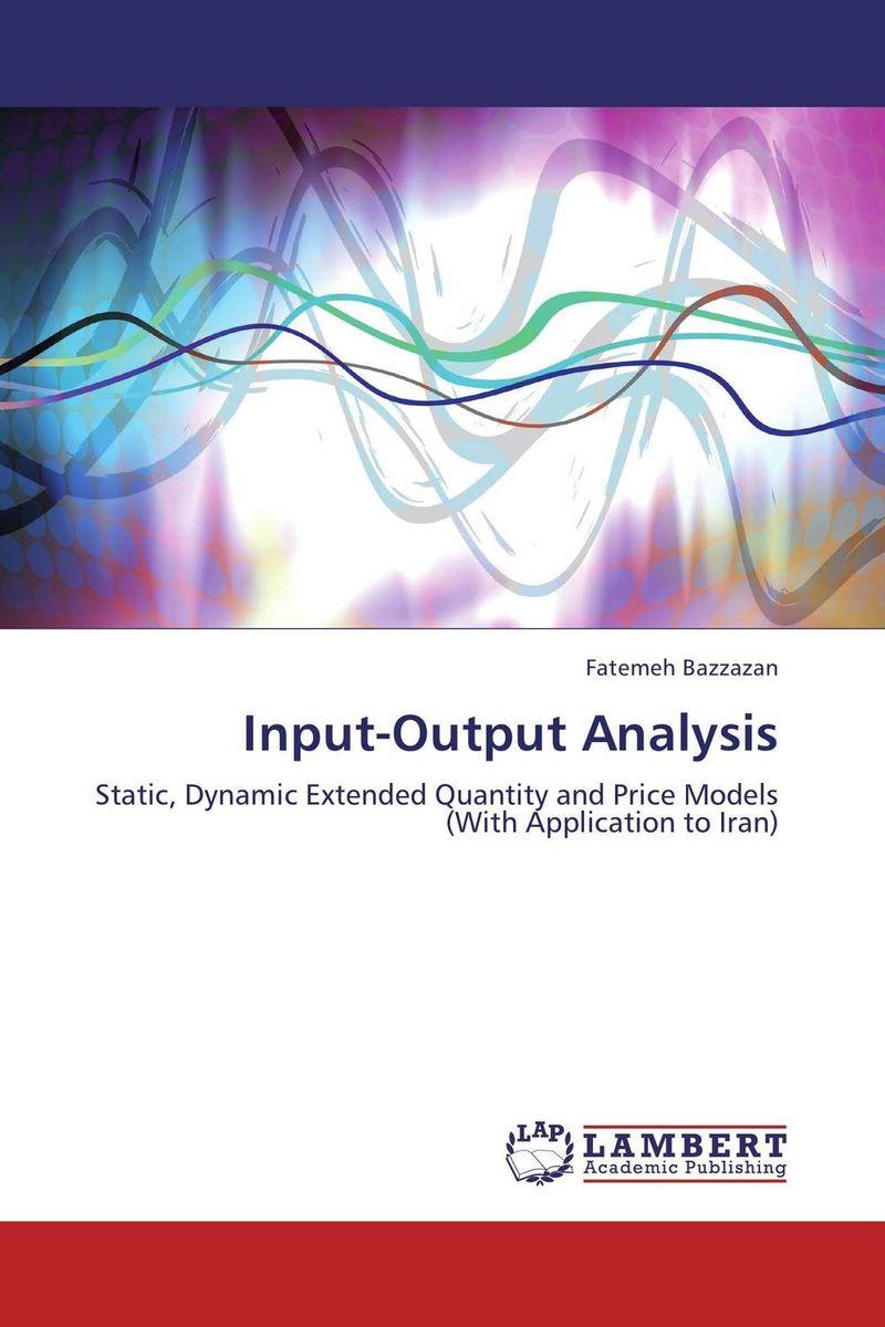 Input-Output Analysis