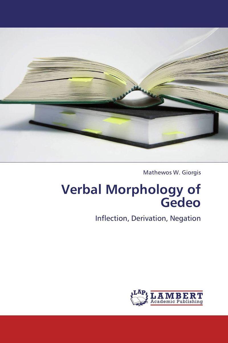 Verbal Morphology of Gedeo