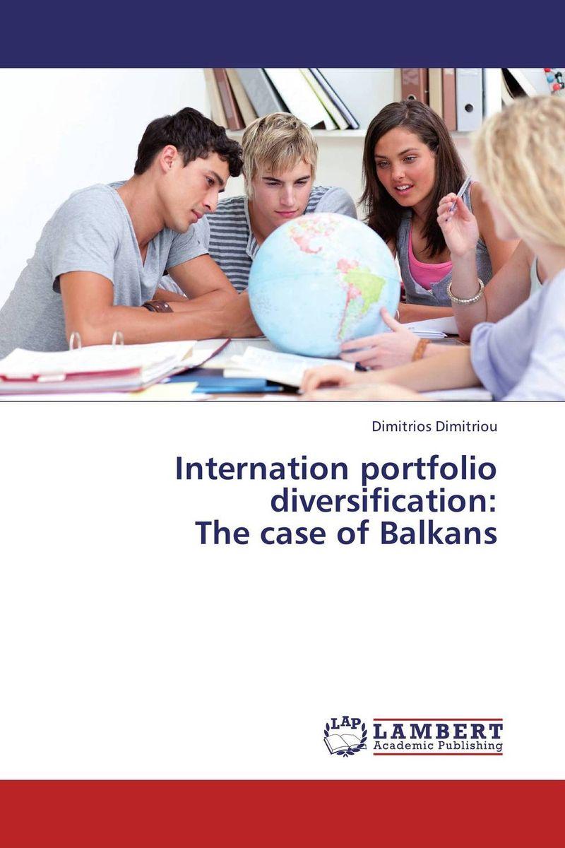 Internation portfolio diversification: The case of Balkans