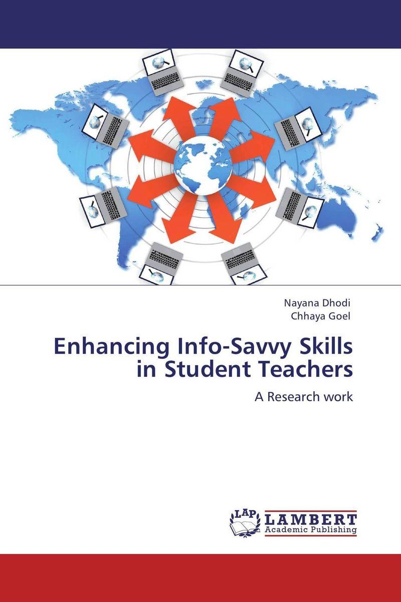 Enhancing Info-Savvy Skills in Student Teachers