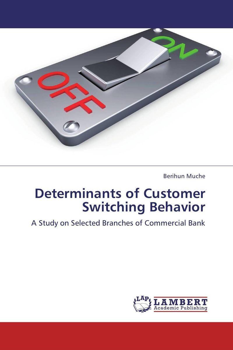 Determinants of Customer Switching Behavior
