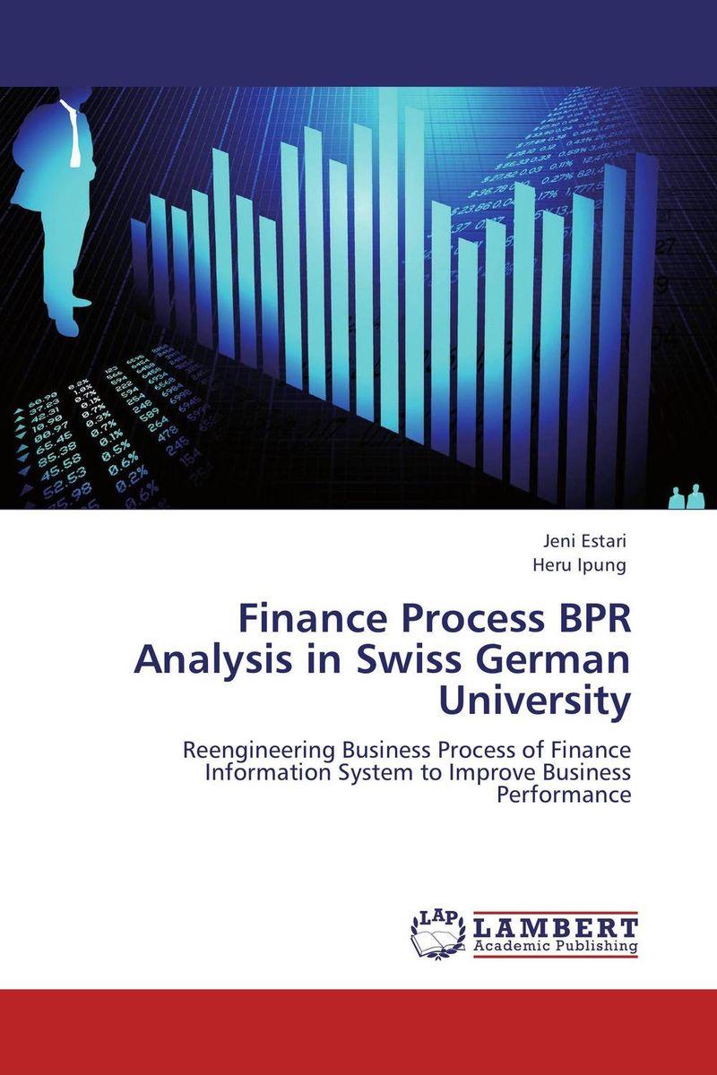 Finance Process BPR Analysis in Swiss German University