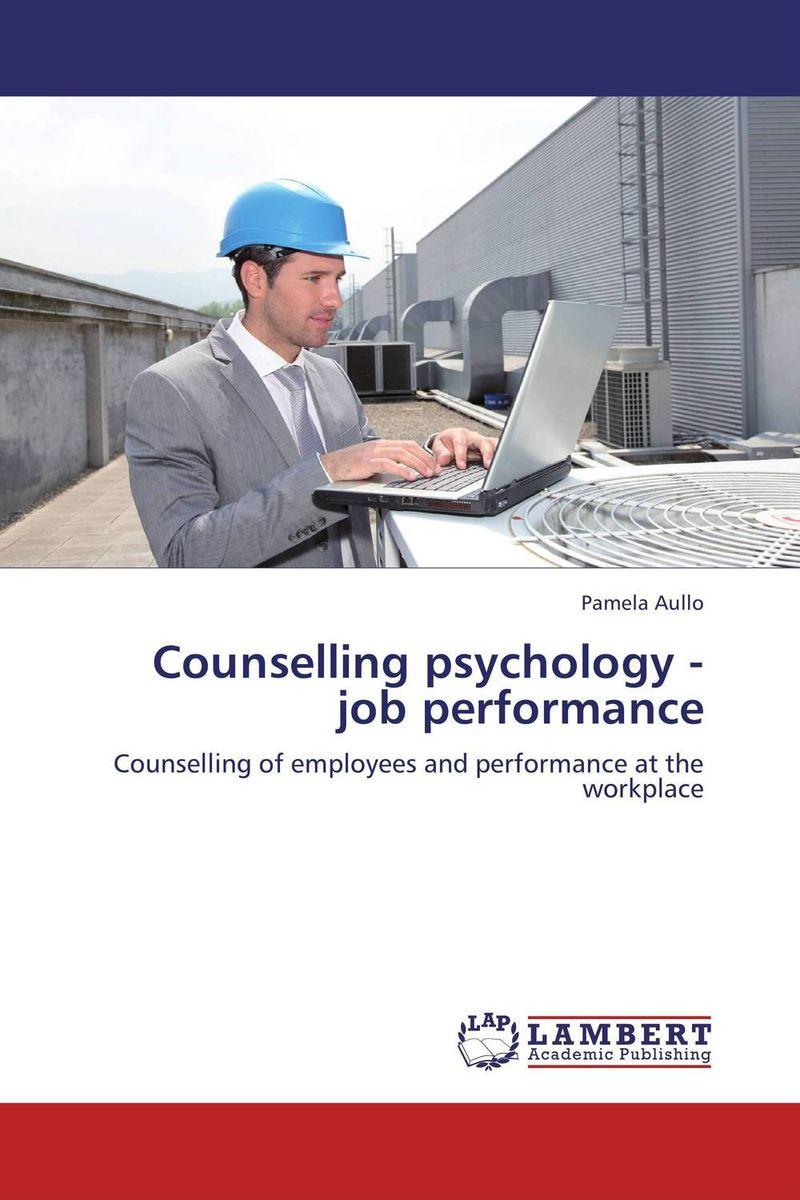 Counselling psychology - job performance