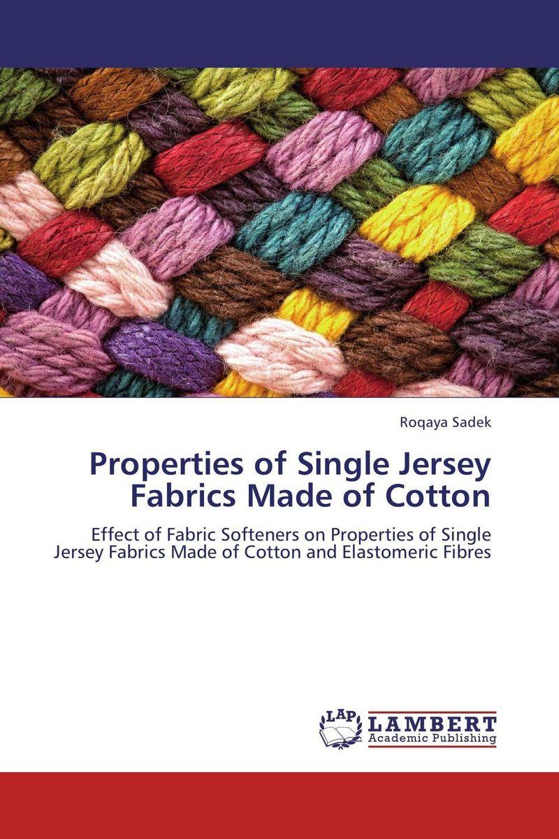 Properties of Single Jersey Fabrics Made of Cotton