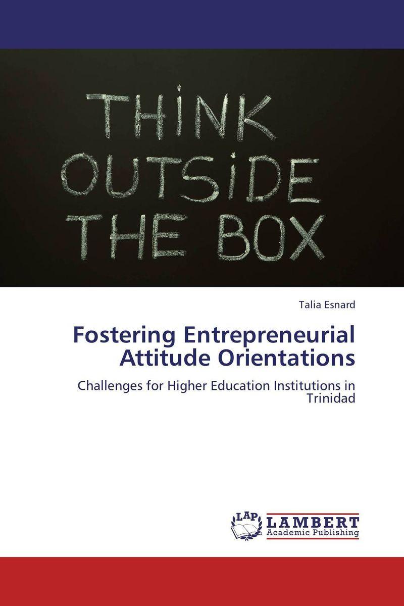 Fostering Entrepreneurial Attitude Orientations