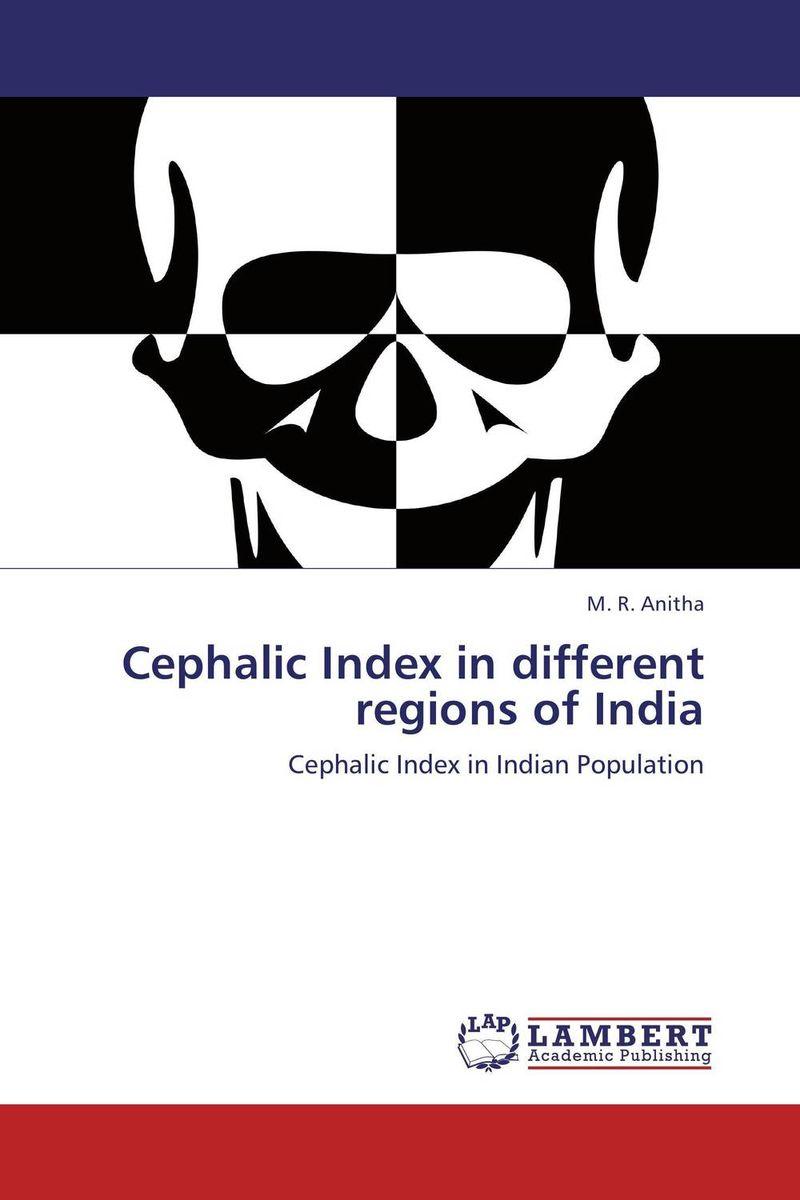Cephalic Index in different regions of India