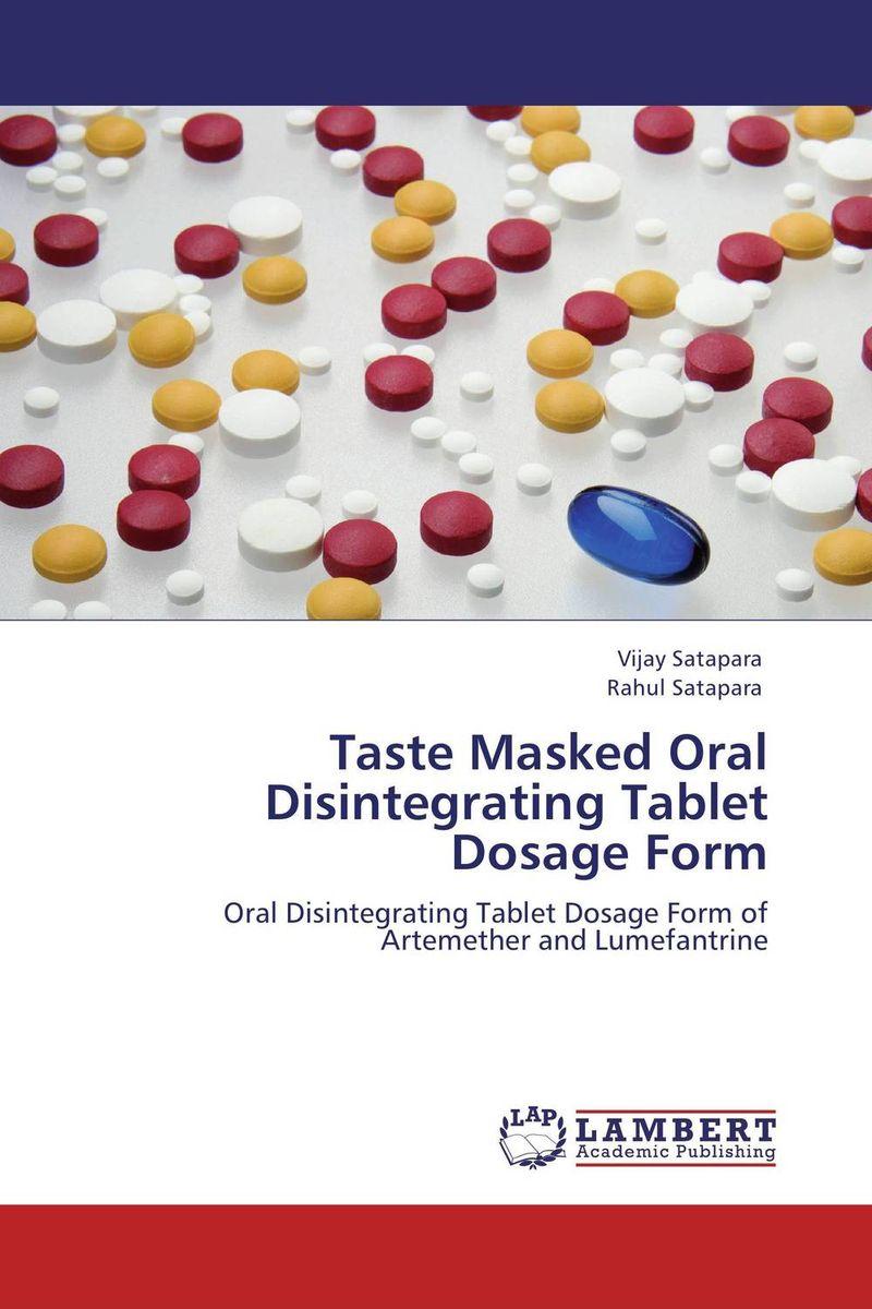 Taste Masked Oral Disintegrating Tablet Dosage Form