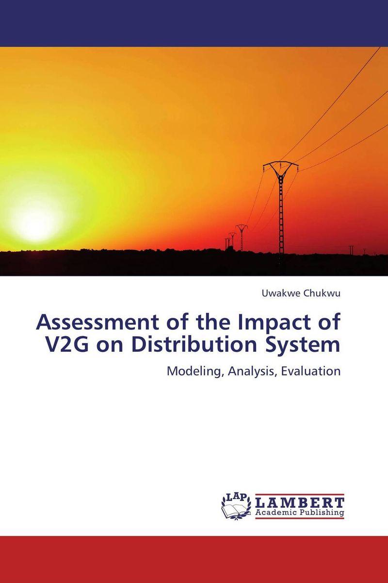 Uwakwe Chukwu Assessment of the Impact of V2G on Distribution System  мойка ilve sk100 v2g