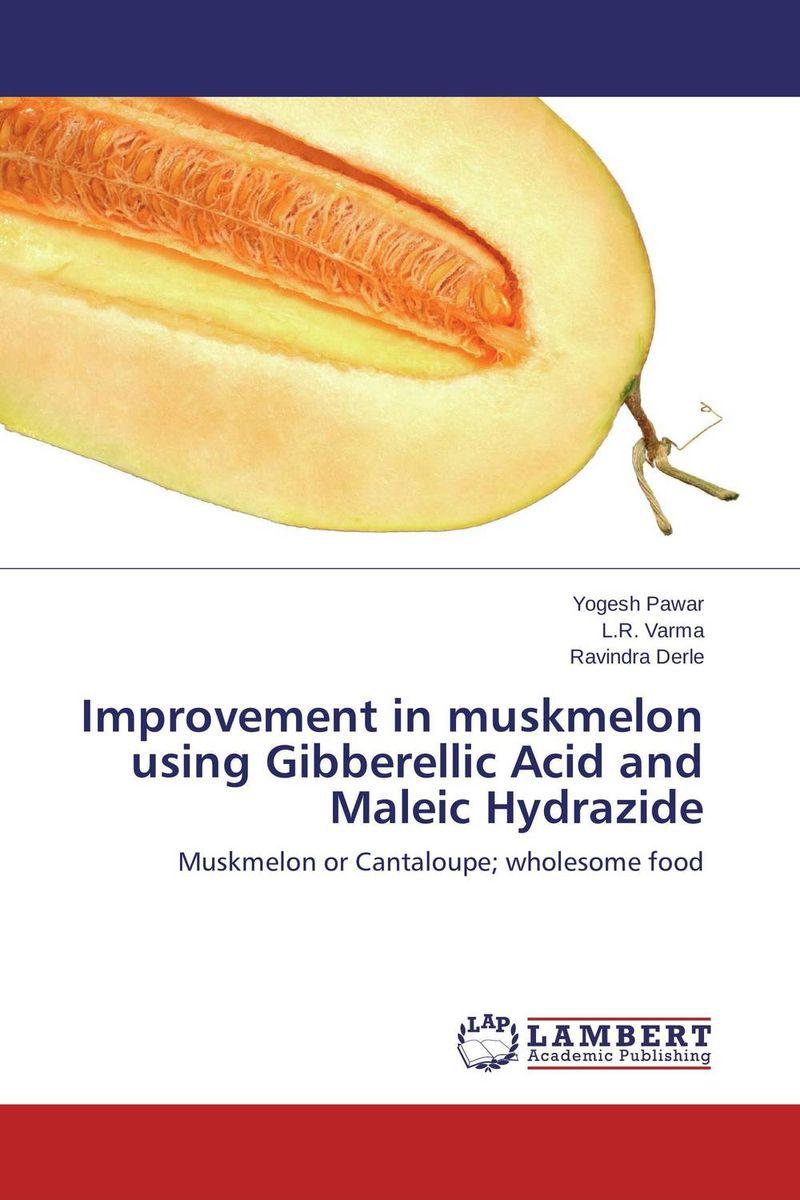 Yogesh Pawar,L.R. Varma and Ravindra Derle Improvement in muskmelon using Gibberellic Acid and Maleic Hydrazide