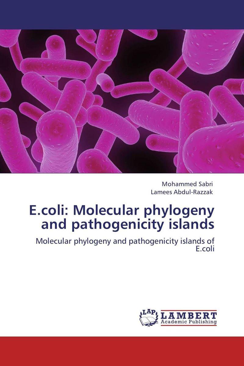 E.coli: Molecular phylogeny and pathogenicity islands
