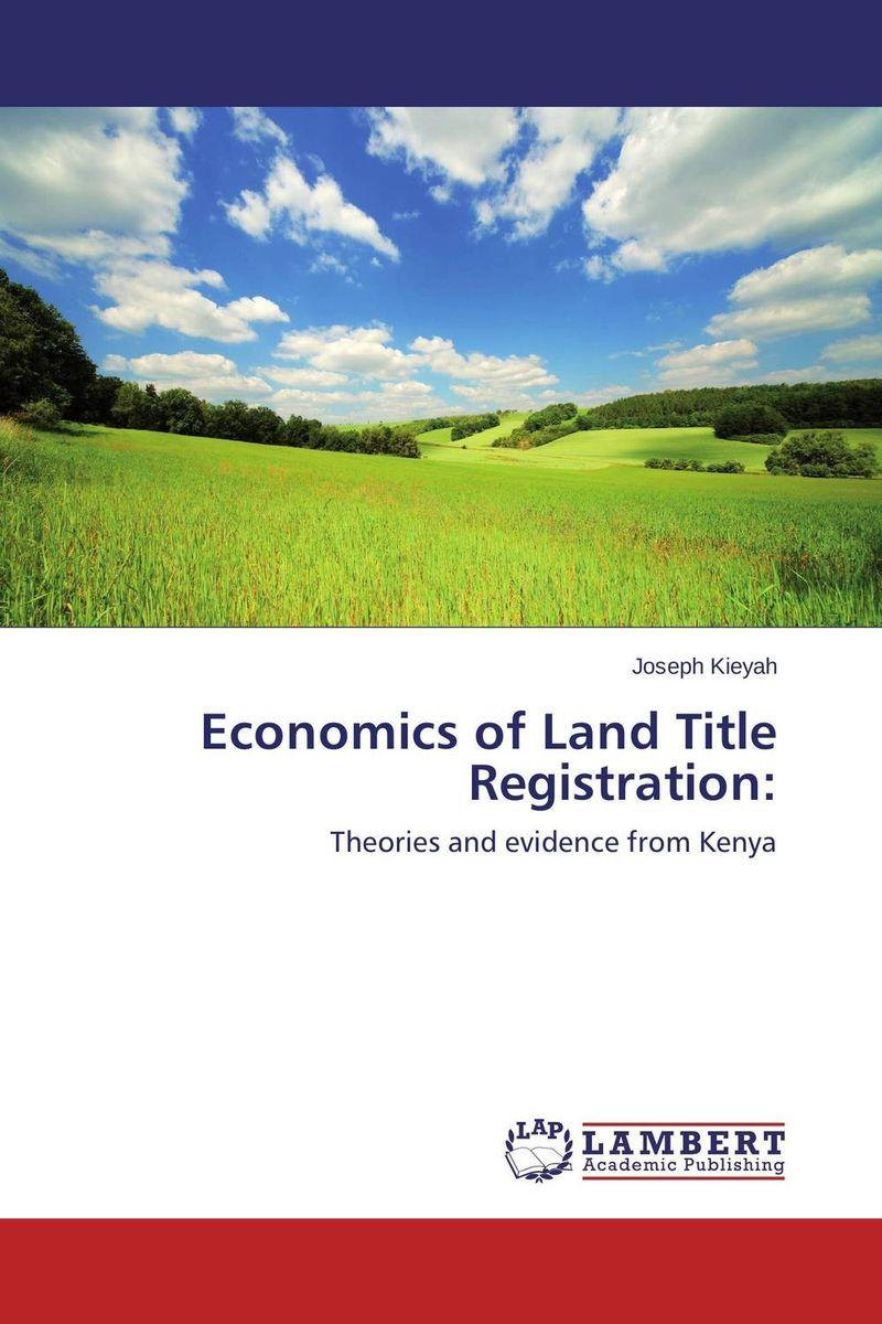 Economics of Land Title Registration: