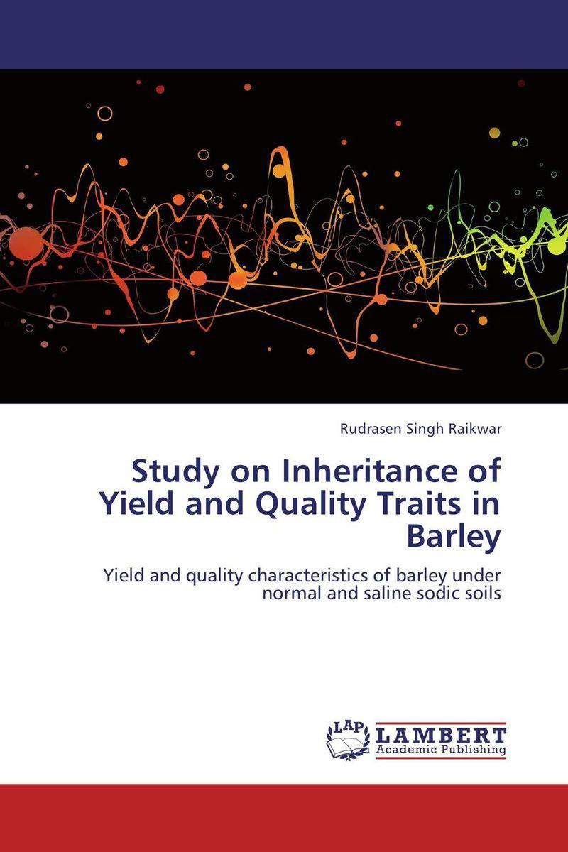 Rudrasen Singh Raikwar Study on Inheritance of Yield and Quality Traits in Barley purnima sareen sundeep kumar and rakesh singh molecular and pathological characterization of slow rusting in wheat