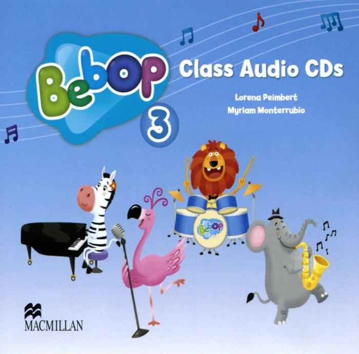 Bebop 3: Class Audio CDs (аудиокурс на 2 CD)