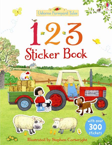 Farmyard Tales: 123 sticker book