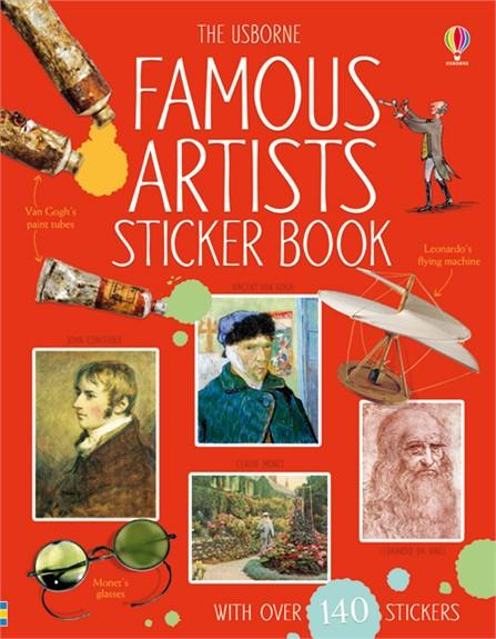 Famous Artists: Sticker Book