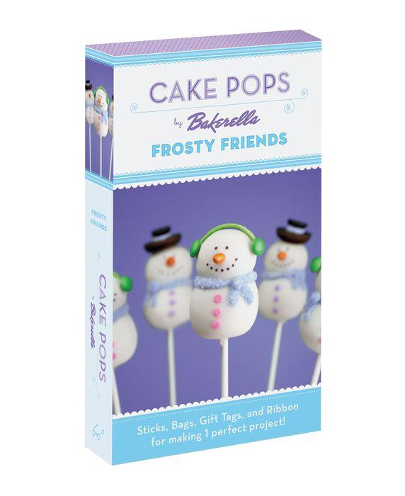 Cake Pops: Frosty Friends