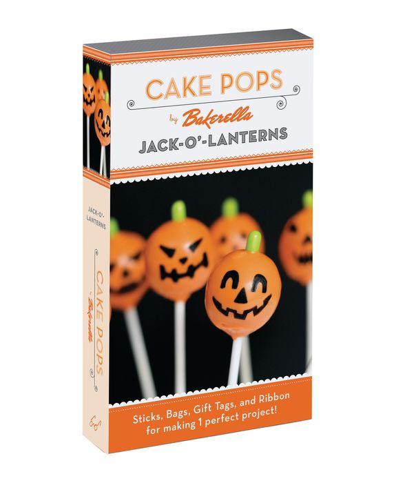 Cake Pops: Jack-O'-Lanterns