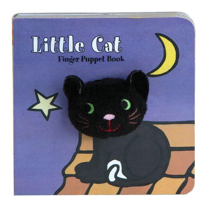 Little Cat: Finger Puppet Book