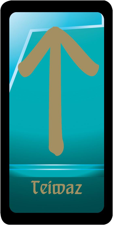 Teiwaz - сильнейшая мужская руна. Магниты-талисманы ( 978-5-699-62341-9 )