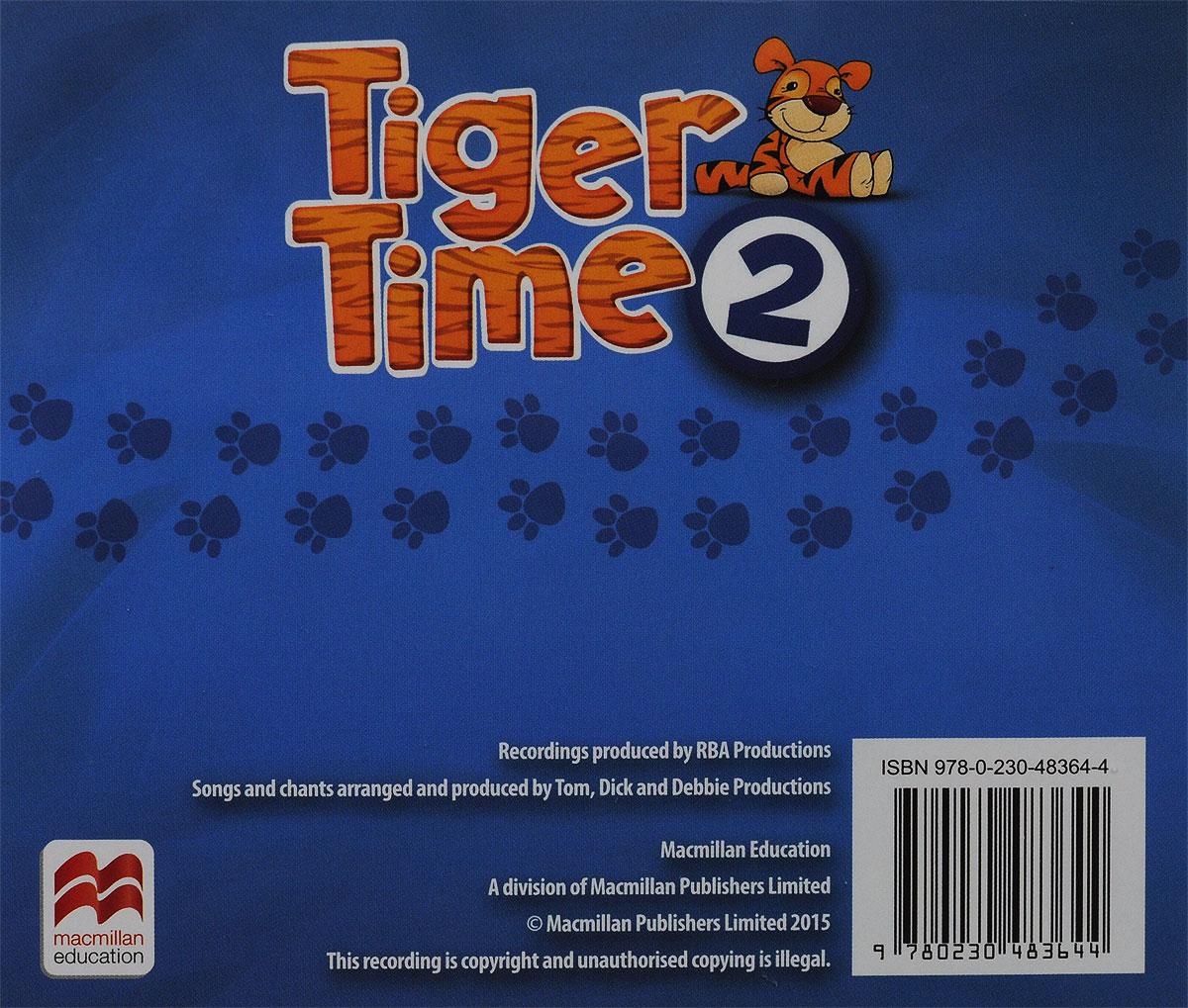 Tiger Time 2: Class Audio CDs (аудиокурс на 4 CD)