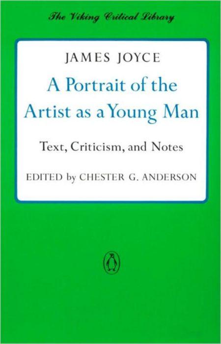Обложка книги A Portrait of the Artist as a Young Man
