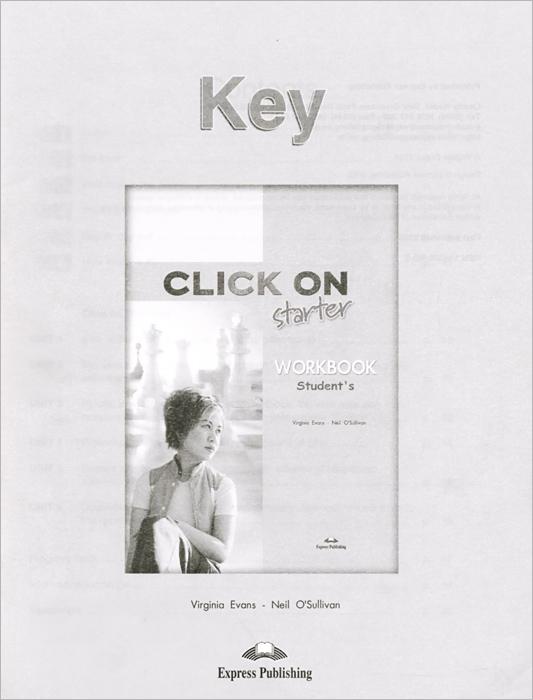 Click on: Starter: Student's Workbook: Key