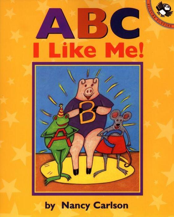 Nancy Carlson A B C I Like Me! famosa nancy