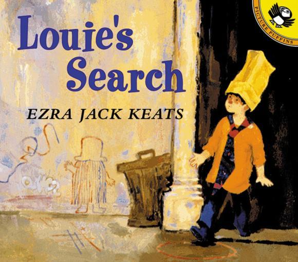 Ezra Jack Keats Louie's Search ezra jack keats louie