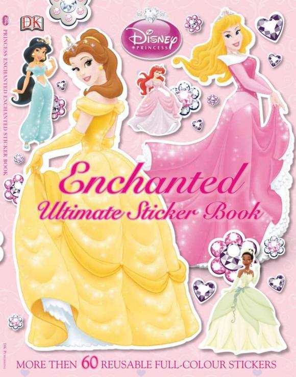 Ultimate Sticker Book: Disney Princess: Enchanted